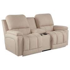Greyson Power La-Z-Time® Loveseat with Middle Console