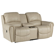 Walker La-Z-Time® Full Reclining Loveseat with Middle Console