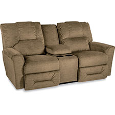 Easton La-Z-Time® Full Reclining Loveseat with Middle Console
