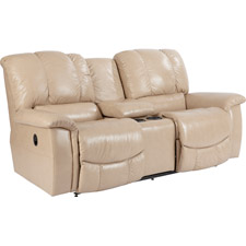 Jace La-Z-Time® Full Reclining Loveseat with Middle Console
