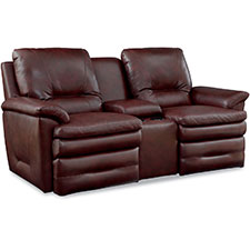 Colton Power La-Z-Time® Loveseat with Middle Console