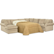 Collins Sectional With Sleeper