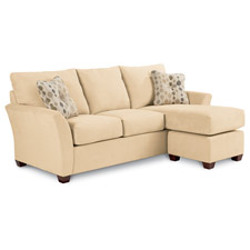 Eden Sofa & Ottoman W/ Chaise Cushion