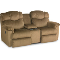 Lancer Power La-Z-Time® Loveseat with Middle Console