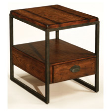Baja Rectangular Drawer End Table