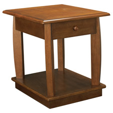 Ascend Rectangular Drawer End Table