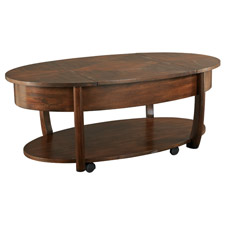 Concierge Oval Lift Top Cocktail Table