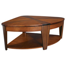Oasis Wedge Lift Top Cocktail Table
