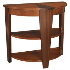 Oasis Demilune End Table